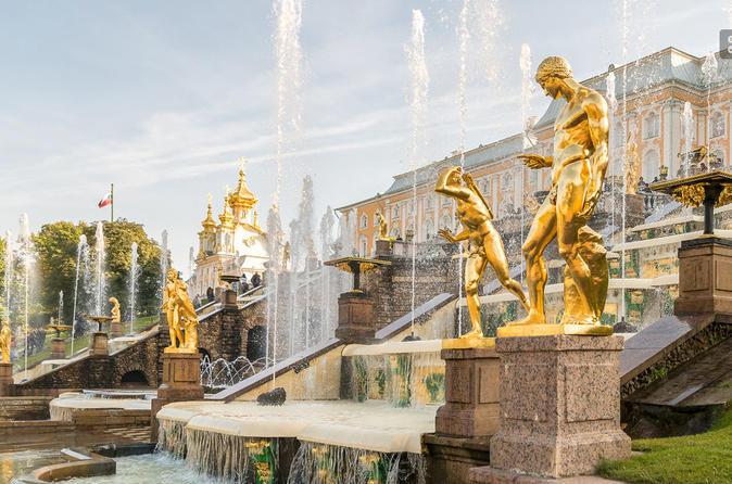 Half Day Tour of Peterhof (Petrodvorets)