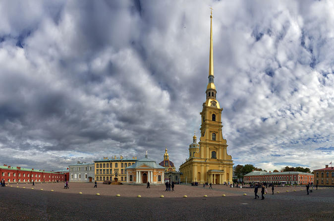 Saint Petersburg City Tour with Peter and Paul Fortress