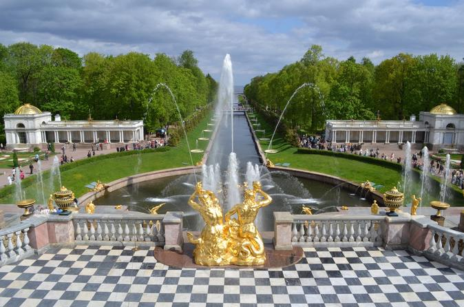Skip-the-Line Entrance Tickets to Peterhof Grand Palace