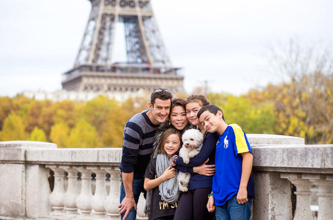 Private Family Photo Shoot in Paris