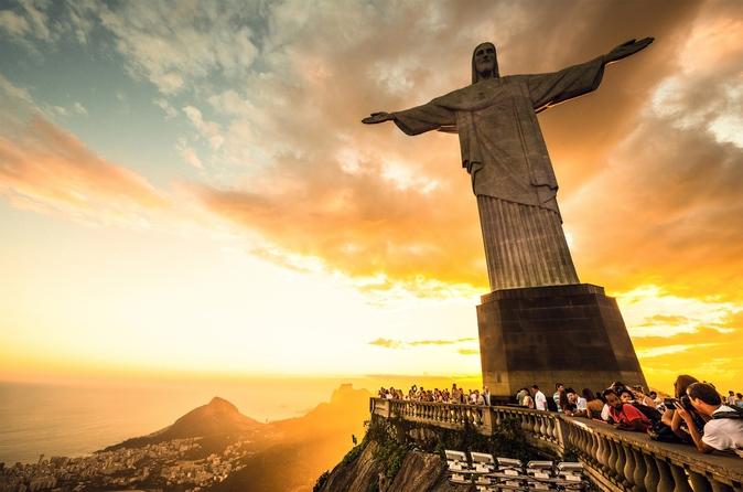 Exclusivo da Viator: acesso antecipado à Estátua do Cristo Redentor, com excursão opcional ao Pão de Açúcar
