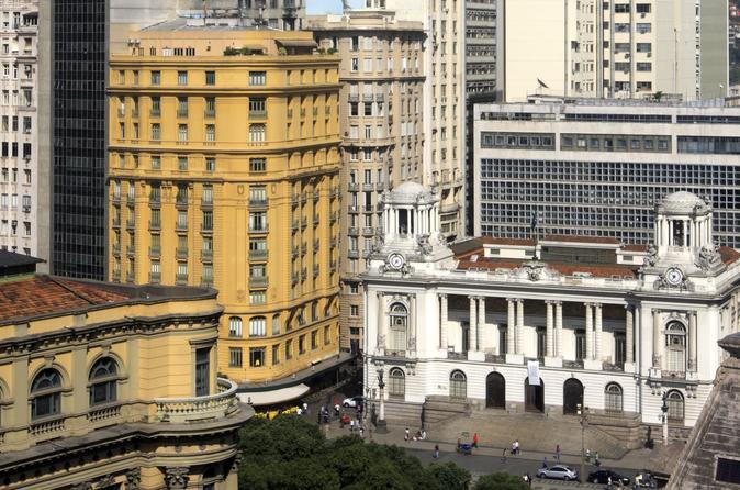 Rio de Janeiro Historical Architecture Sightseeing Tour