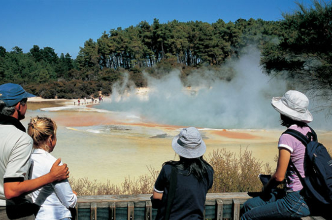 Entrée à Wai-O-Tapu Thermal Wonderland