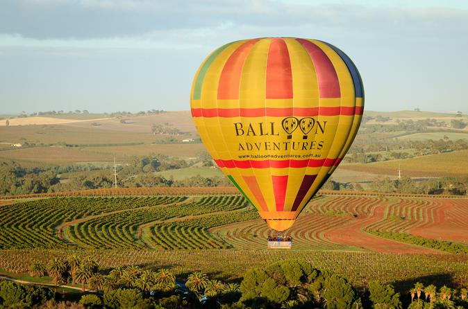 Barossa valley hot air balloon ride with winery breakfast in barossa valley 170293
