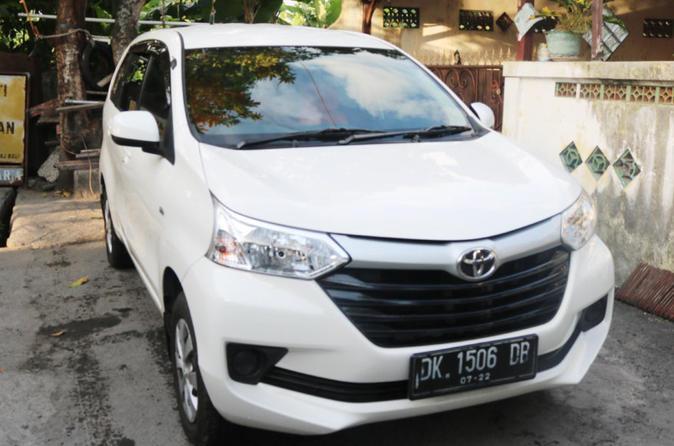 4 Seater Car Toyota Avanza With English Speaking Driver - Kuta