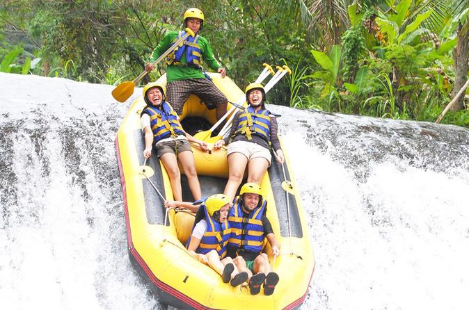 White Water Rafting At Telaga Waja - Kuta