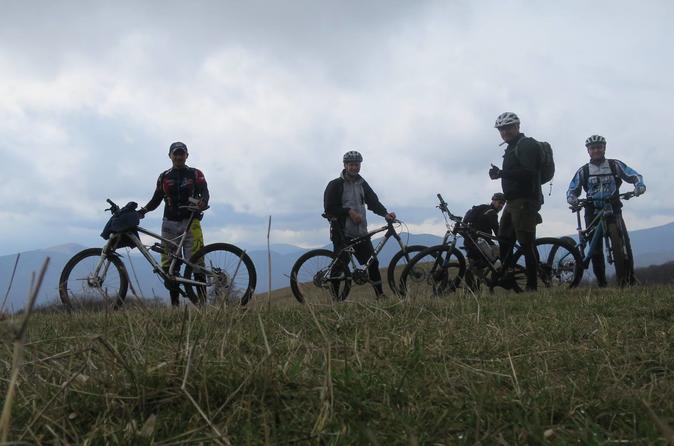 Biking On The Hills Around Tbilisi