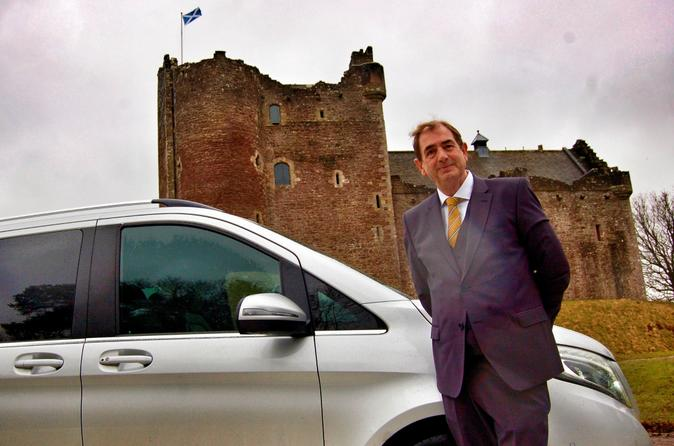 St Andrews to Glasgow - Luxury Private Transfer