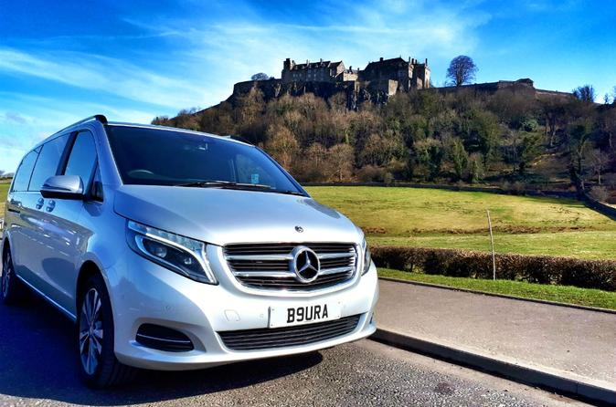 Stirling to Glasgow - Luxury Private Transfer