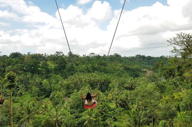 Bali Swing Sacred Monkey Forest And Volcano Day Tours