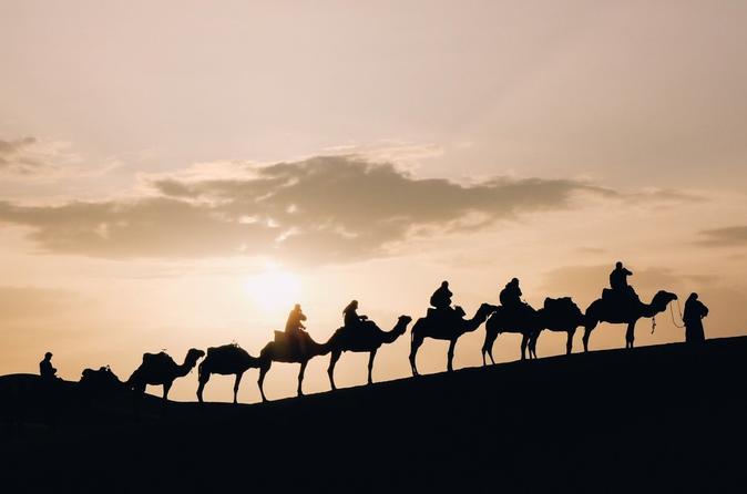Desert Sunset Camel Ride With Free Tea In The Desert Camp - Marrakesh