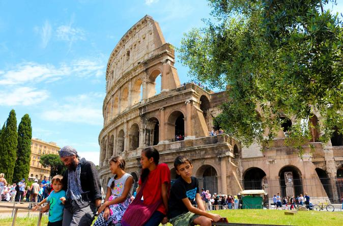 Colosseum and Roman Forum : Family with Children Guided Tour