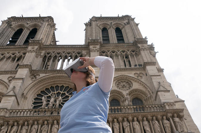 Notre-dame de Paris medieval virtual reality tour