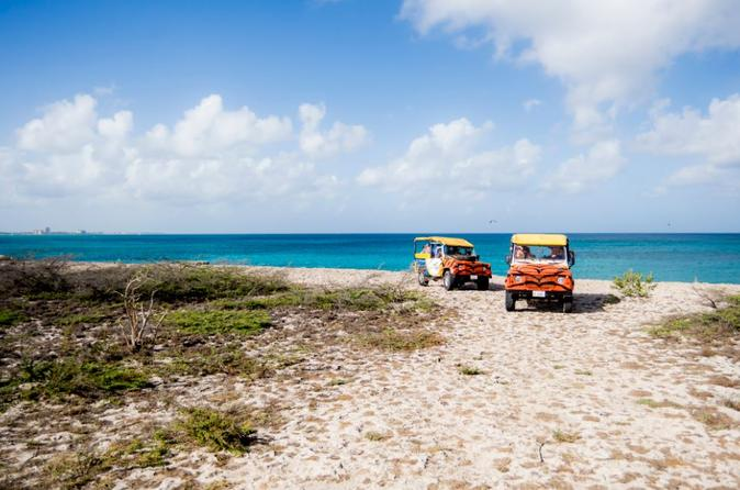 Excursão Off-Road de Aruba incluindo Piscina Natural e Baby Beach
