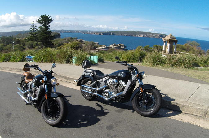 Cruise The Sydney Coastline 2-Hour Motorcycle Tour