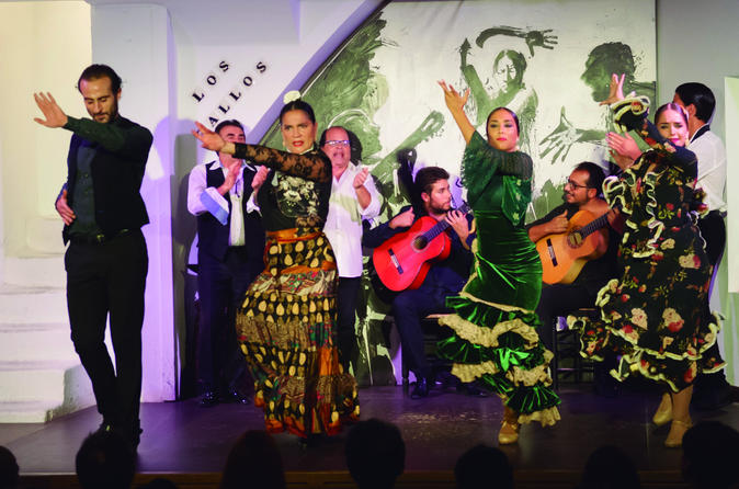 Flamenco Show Admission Ticket At Los Gallos - Seville