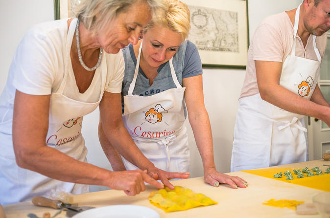 Local Market Visit And Private Cooking Class At A Cesarina's Home In Bologna