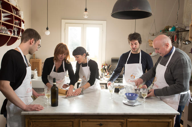 Private Cooking Class At A Cesarina's Home With Tasting In Naples