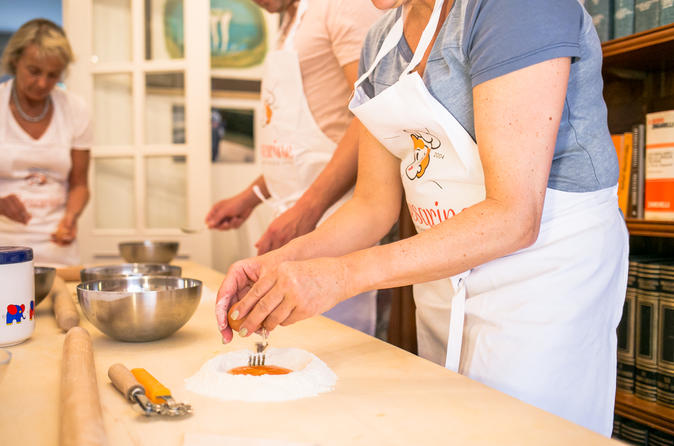Private Cooking Class At A Cesarina's Home With Tasting In Rome
