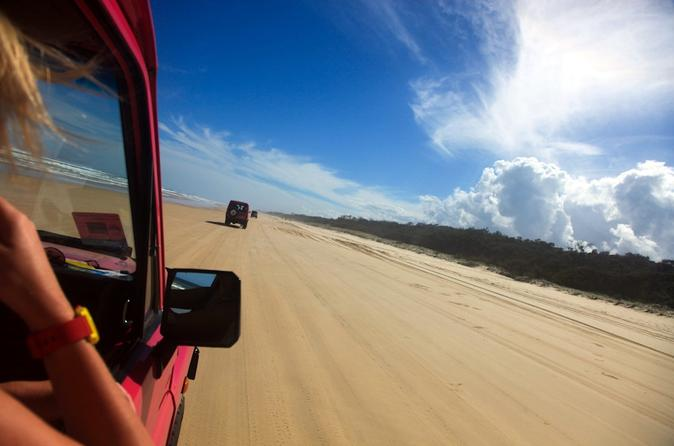 2 day fraser island 4wd tag along tour at beach house from hervey bay in fraser island 170102