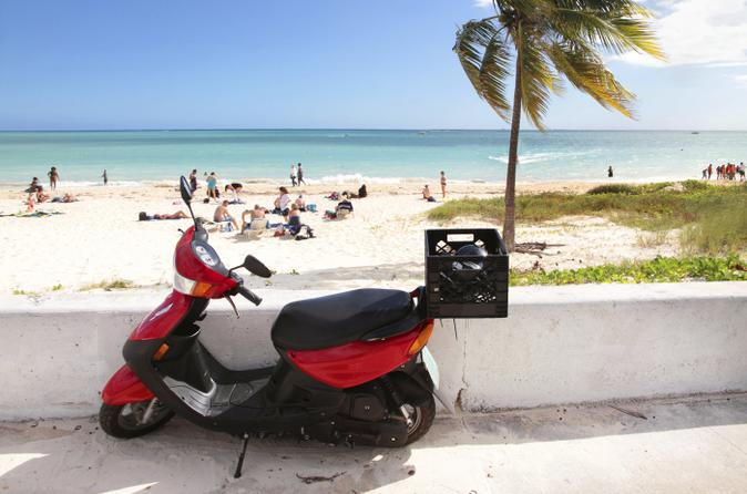 Freeport Scooter Tour and Crystal Beach Admission