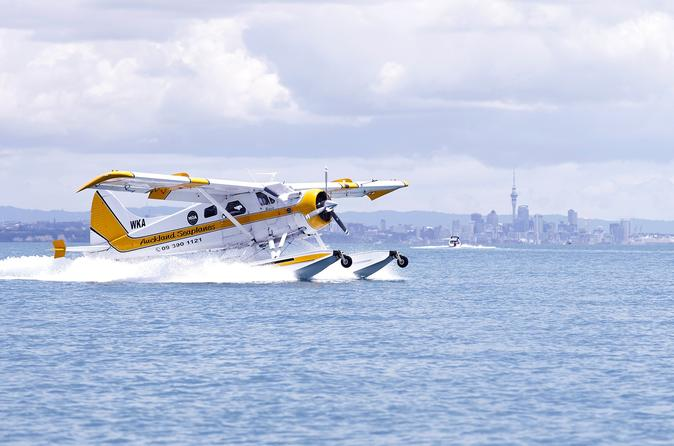 Waiheke Island Lunch or Dinner by Seaplane from Auckland