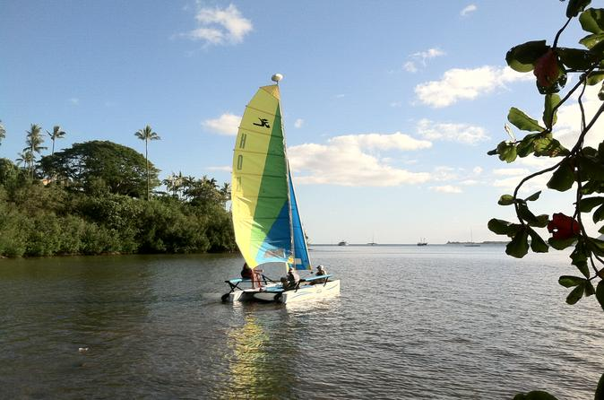 Catamaran Sailing and Snorkel Adventure on Kaneohe Bay