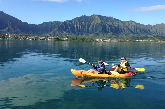 Kaneohe bay kayak and snorkel tour to coconut island in oahu 179303