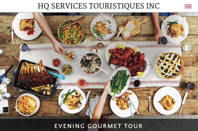 Evening Gourmet Tour - Quebec