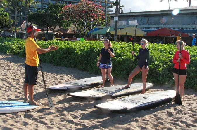Stand-Up Paddle Board Lesson - Maui