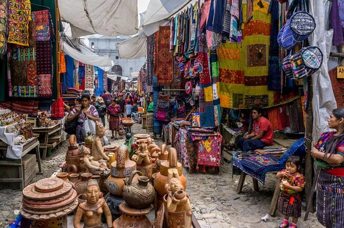 Chichicastenango Market Day Tour From Guatemala City or Antigua