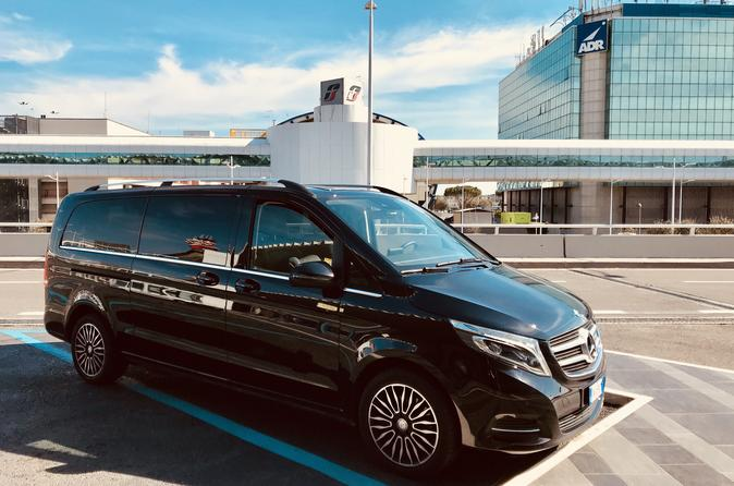 Mercedes V Class Transfer With Sighseeing Tour Included - Rome