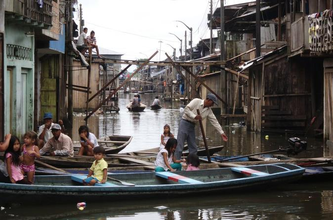 Belen  See Floating Village And Colorful Market With Jungle Reps - Iquitos