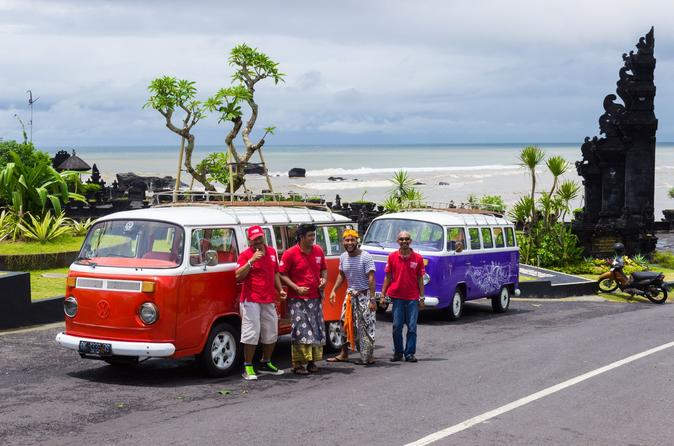 Bali Beach and Bar Hopping Tour by Custom 1980 VW Kombi Bus