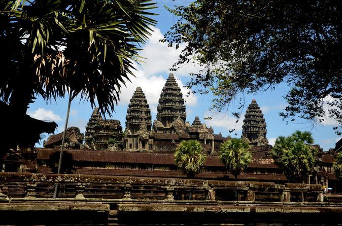Angkor Wat  Day Tour Three Main Temples ( Angkor Wat ,Bayon & Ta Prom Temple ) - Siem Reap