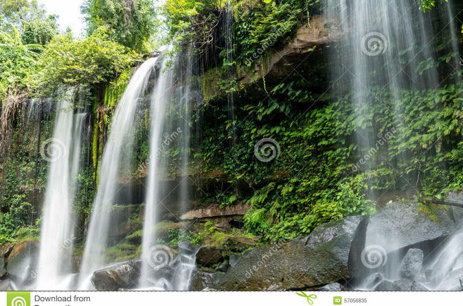 One Day Trip To Waterfall (phnom Kulen) - Siem Reap