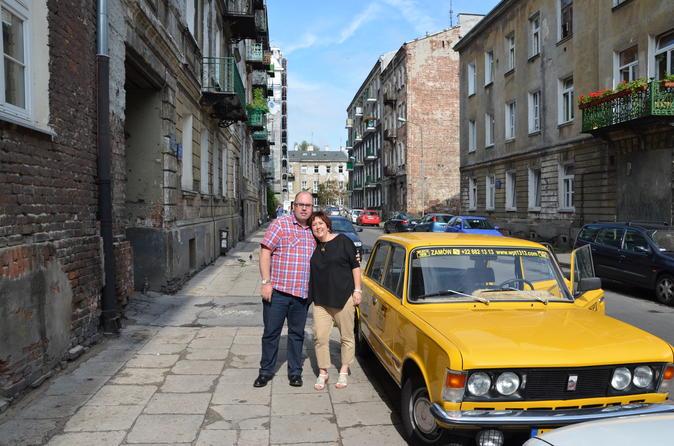 Excursão privada: Herança Judaica de Varsóvia de Fiat retrô