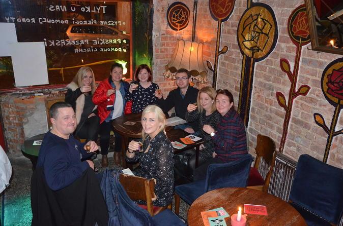 Warsaw vodka night tour by retro fiat in warszawa 304779
