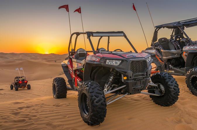 Polaris Buggy - Two Hours Desert Explorer - Dubai