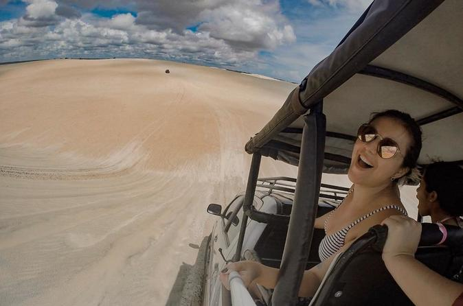 Hilux Tour in Lagoon from Jericoacoara