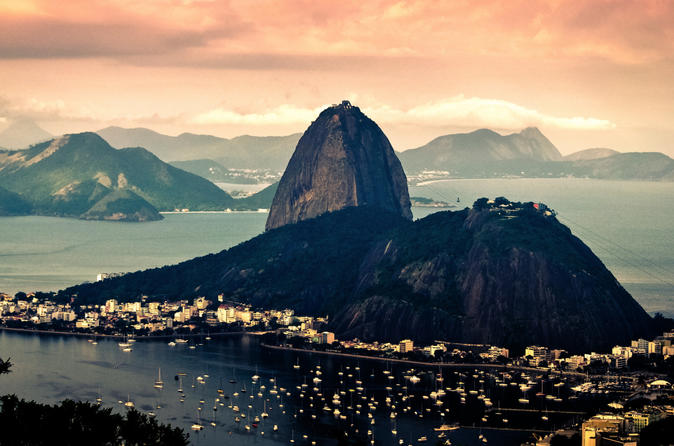 Pre Or Post Cruise - Full Day Tour Sugar Loaf Christ The Redeemer With Bbq Lunch - Rio De Janeiro