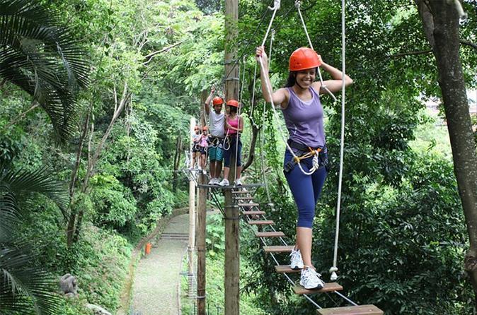 Rio de Janeiro Adventure park  Family Tour