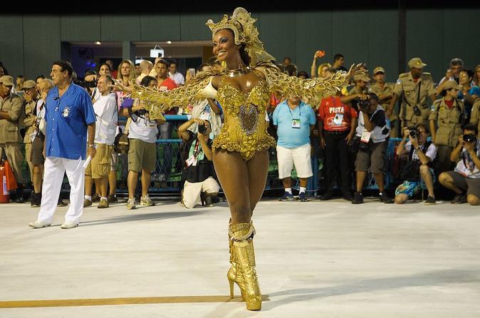 Rio de Janeiro Samba Show at Samba School
