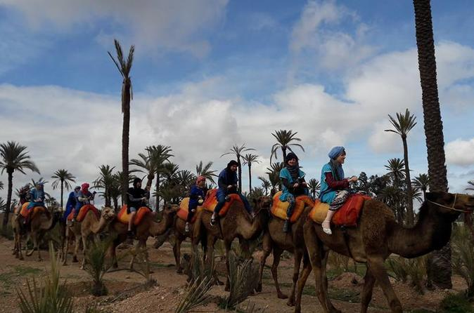 Camel Ride In Oasis With Hammam And Massage - Marrakesh