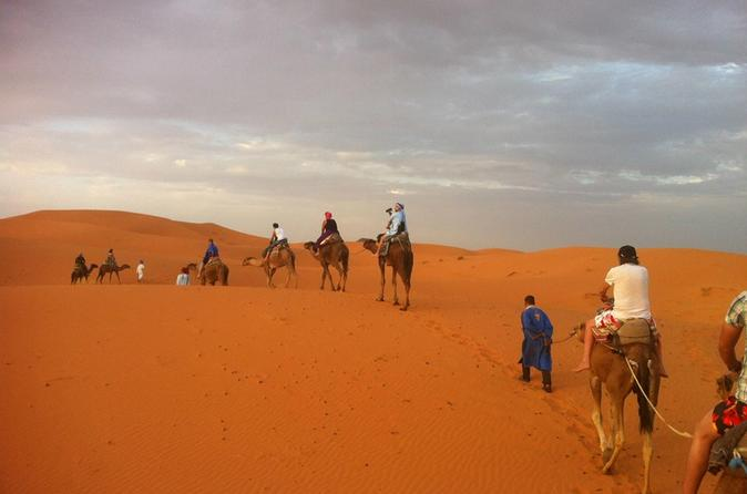 Merzouga One Night Camping With Camel Ride Included Breakfast & Dinner - Fes