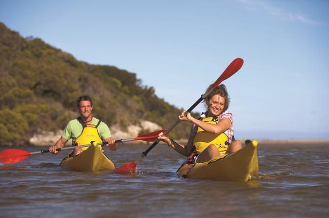 Kangaroo island self guided kayaking on the harriet river in kangaroo island 174389