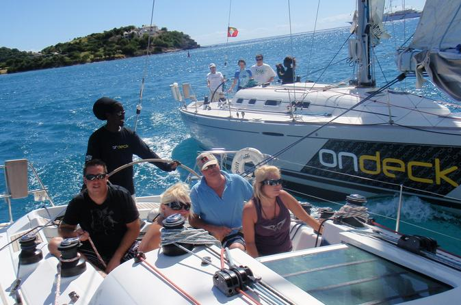 Antigua shore excursion yacht racing in st johns 171824