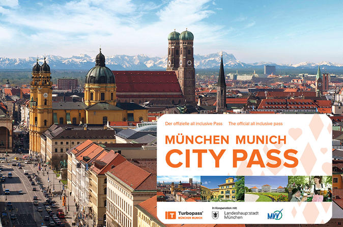 Munich City Pass: Free admission to 45 activities and Public Transport