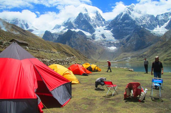 Trekking Huayhuash Alpine Route
