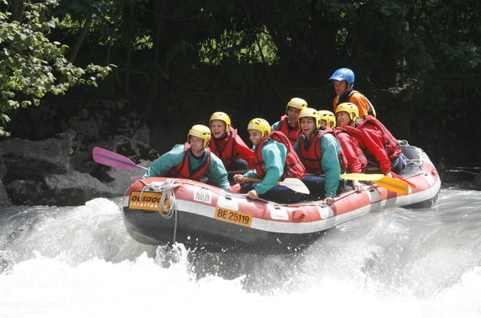 Simme River White-Water Rafting Experience from Interlaken